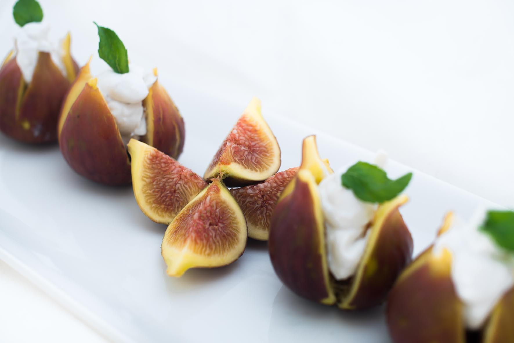 Figs-with-coconut-cream-recipe-starters-sides