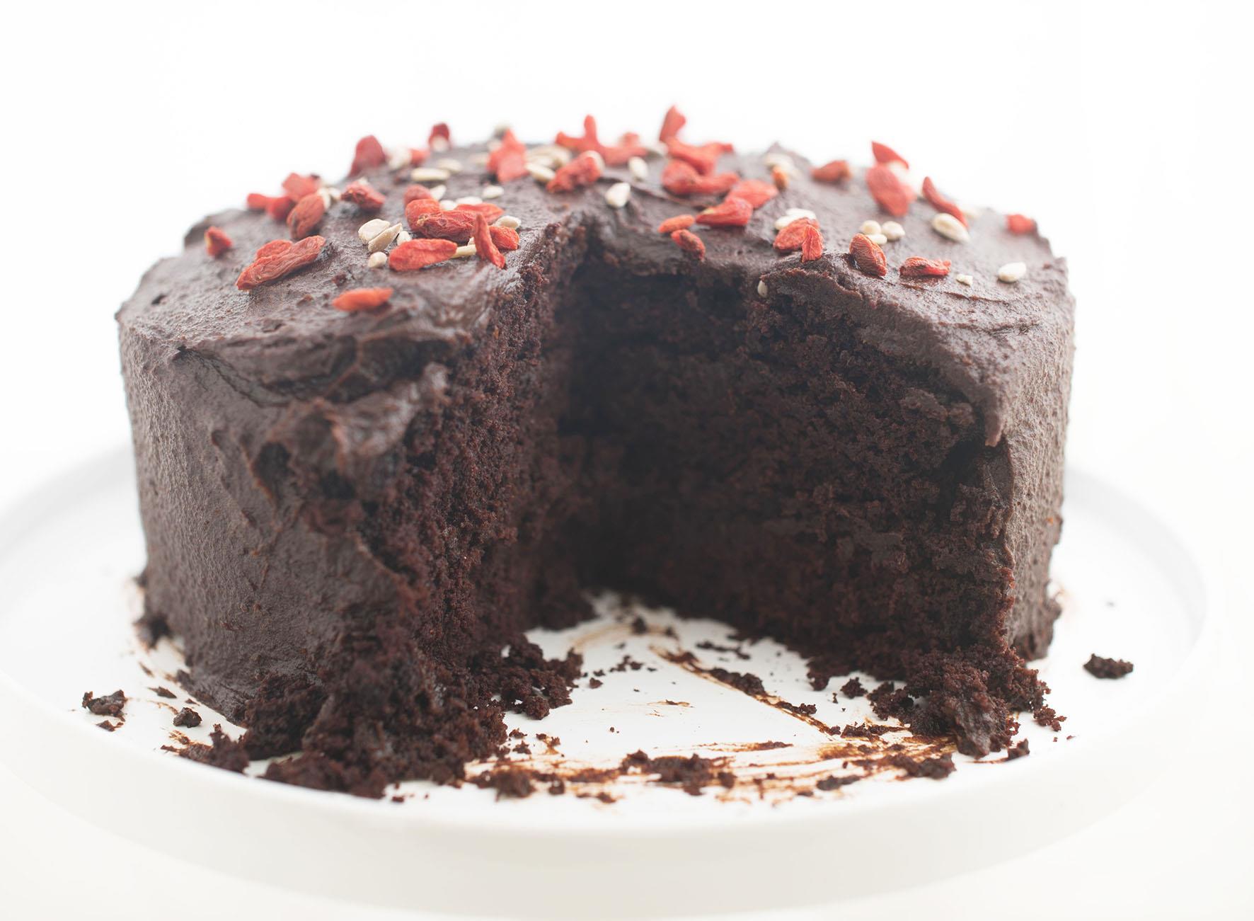 Chocolate Cake Images Free : Guilt-free chocolate cake - Enhealthy.com - Delicious ...