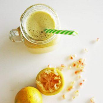 Pomegranate & ginger juice