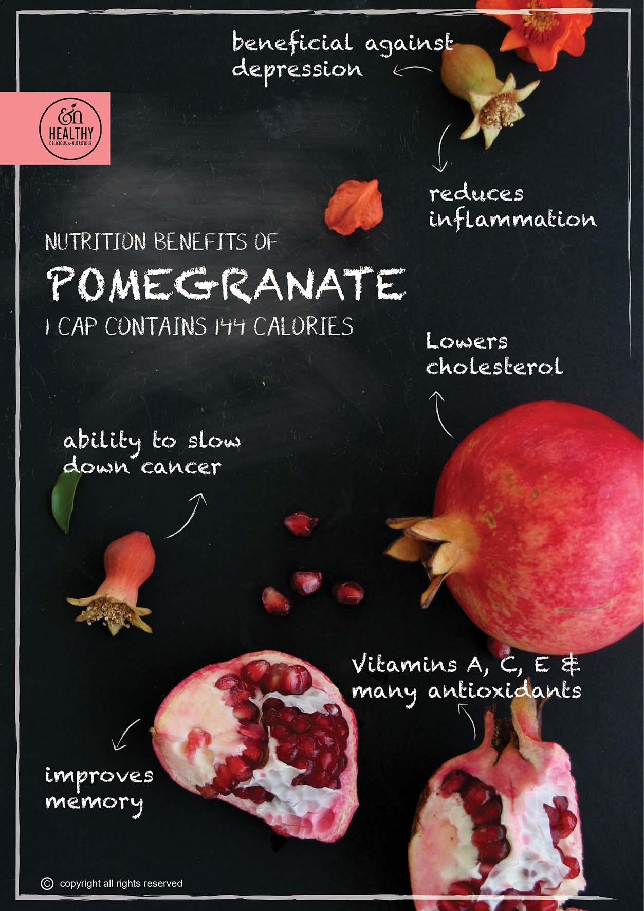 Pomegranate-nutritional-benefits