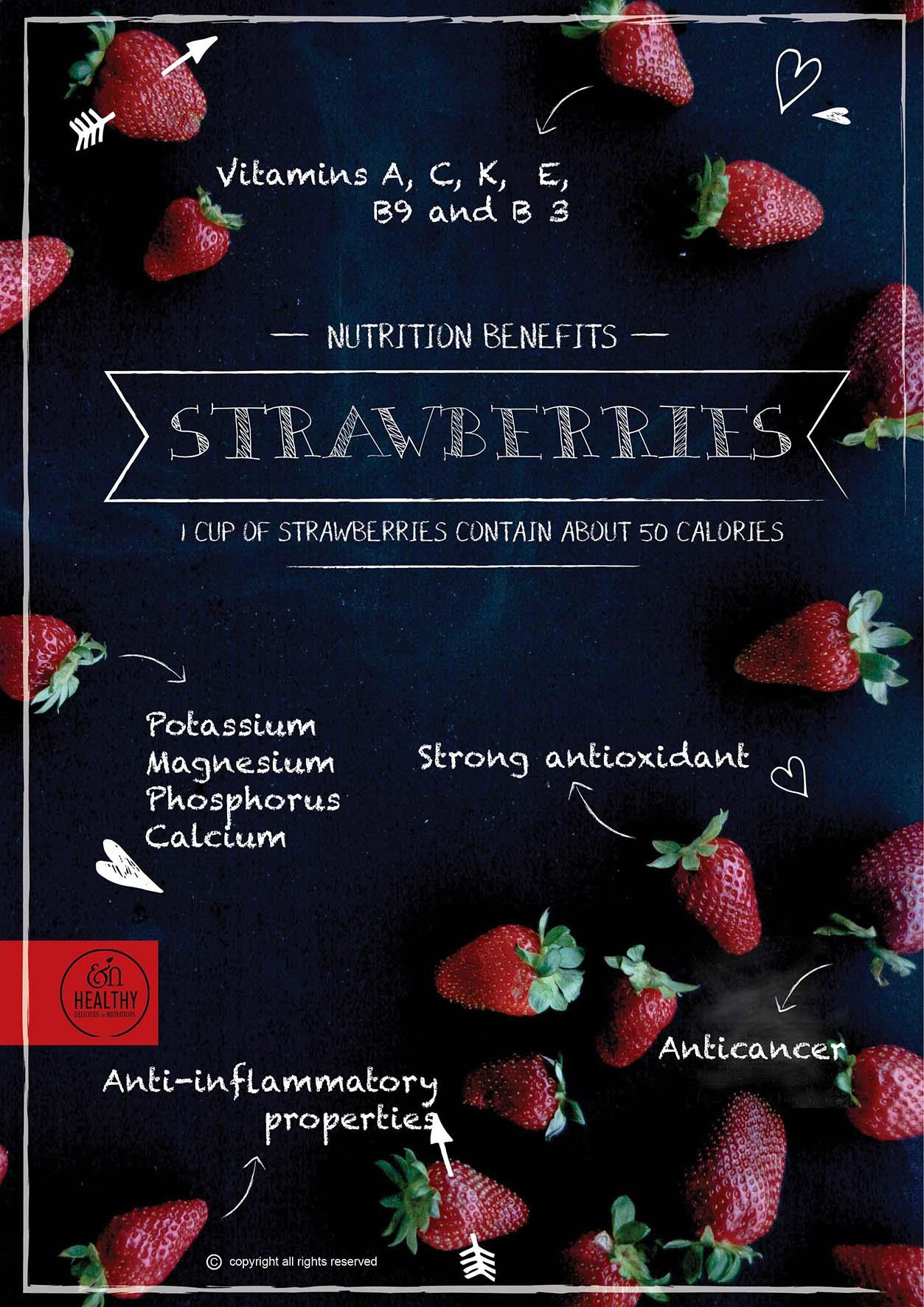 Strawberries-nutritional-benefits