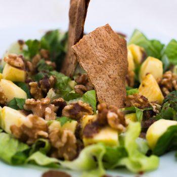 Walnut and apple salad