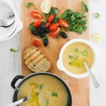 Cypriot louvana soup (yellow split pea)