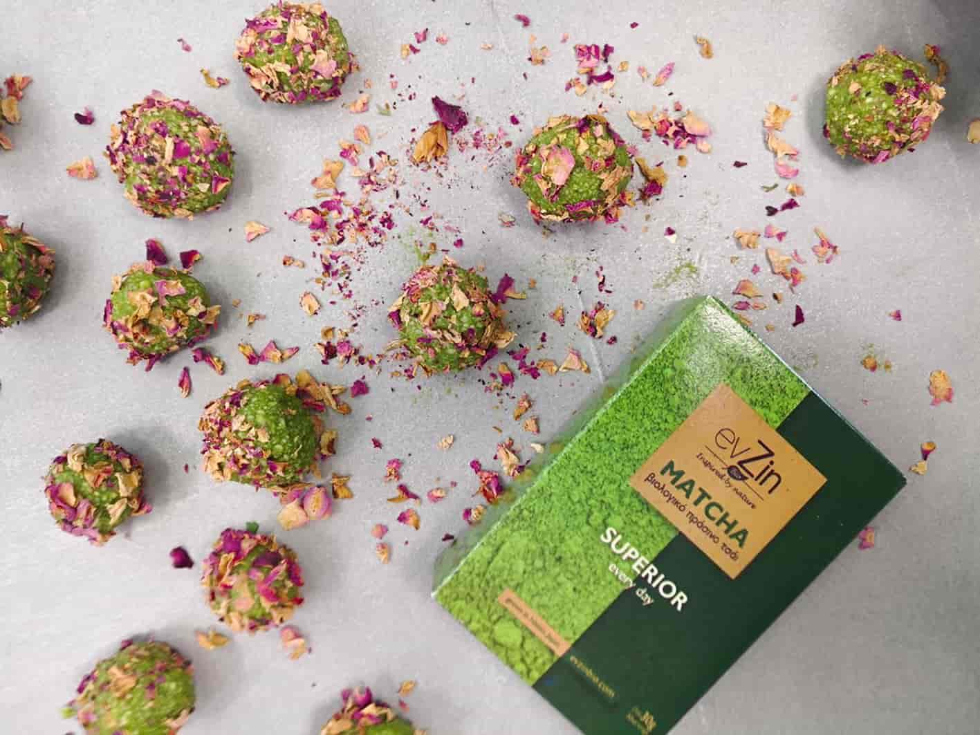 Amygdalota-almond-truffles-matcha-rose-petals-6-recipe-dessert