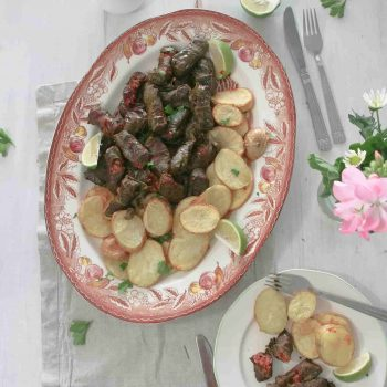 Cypriot Koupepia – Stuffed Vine Leaves