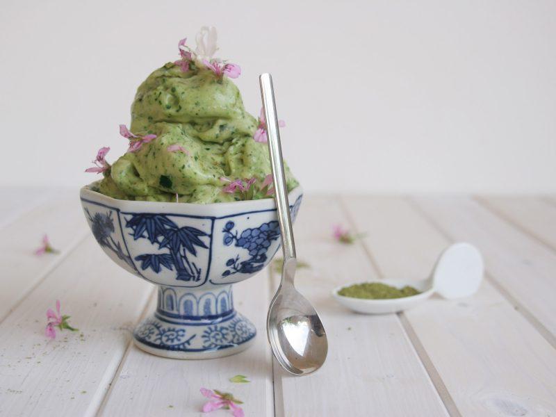 Detox super food instant ice cream
