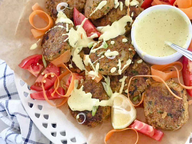 3 Vegetable chickpea vegan burgers