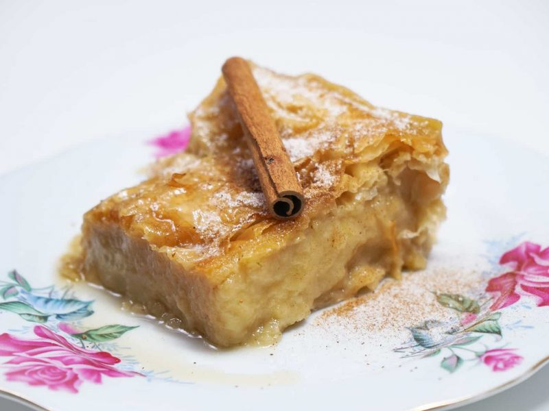 Vegan Galaktoboureko – Custard Pie with Phyllo