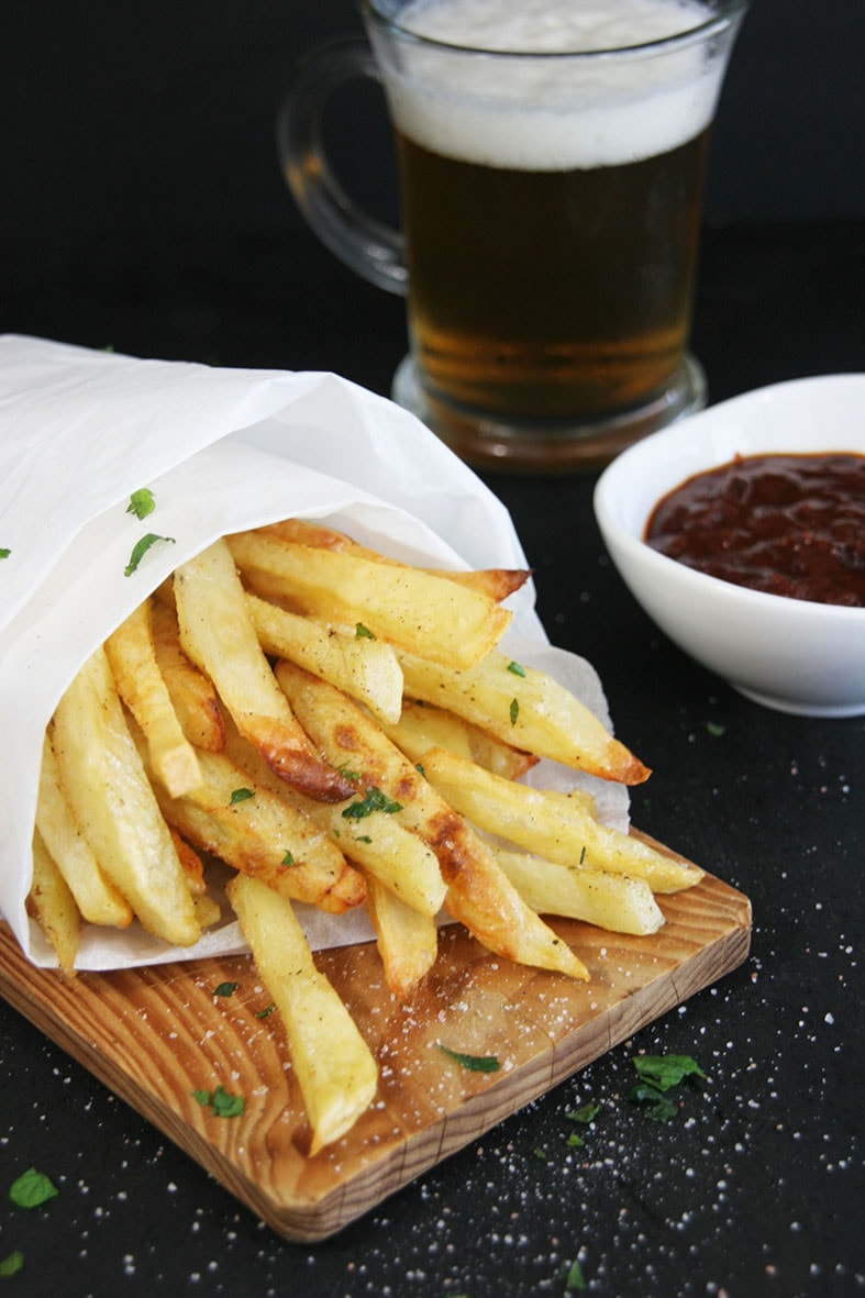 Baked-fries-BBQ-sauce-starter-side-recipes