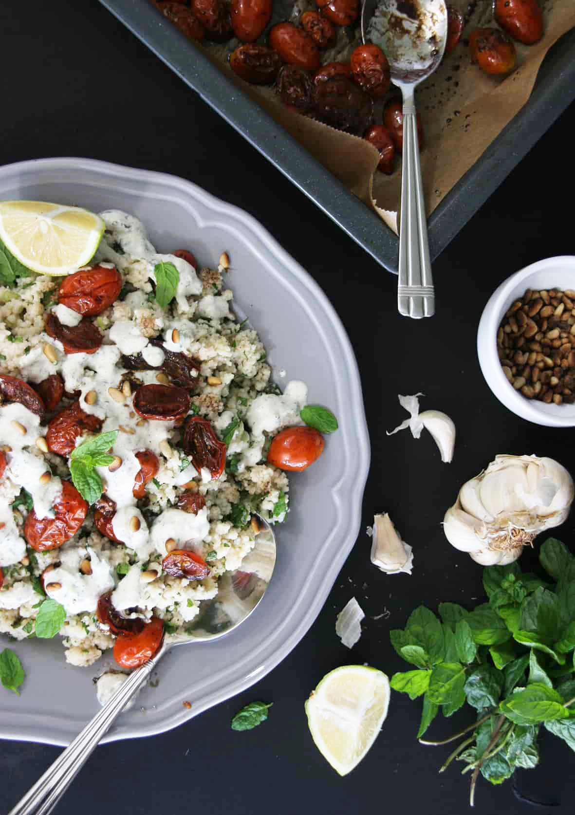 Couscous-roasted-tomatoes-tzatziki-4-recipe-salad